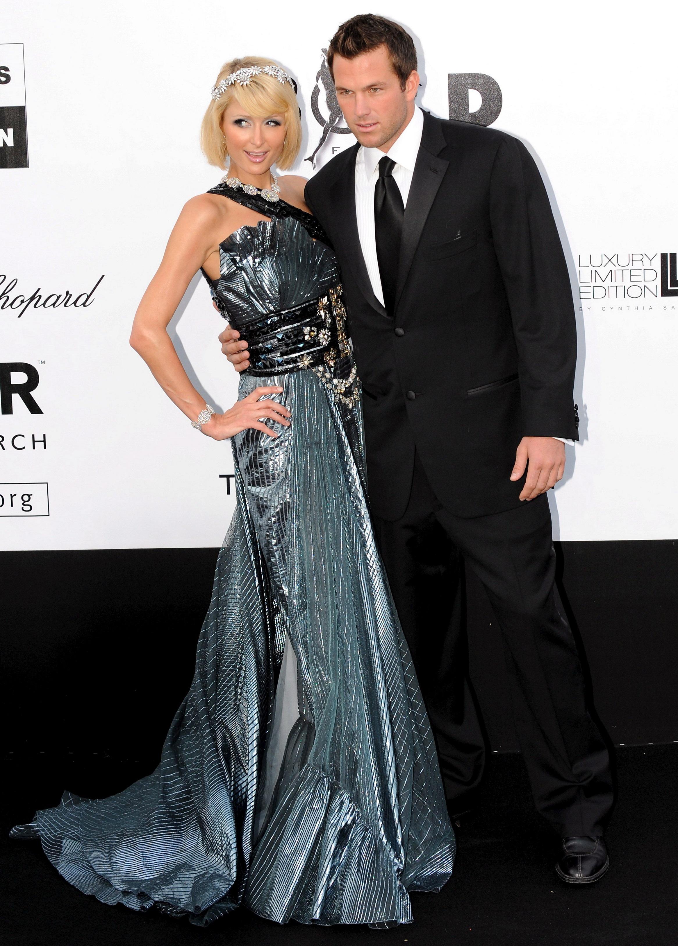 Imagen de archivo de Paris Hilton y su entonces novio, Doug Reinhardt, en mayo de 2009. Foto: CAROLINE BLUMBERG
