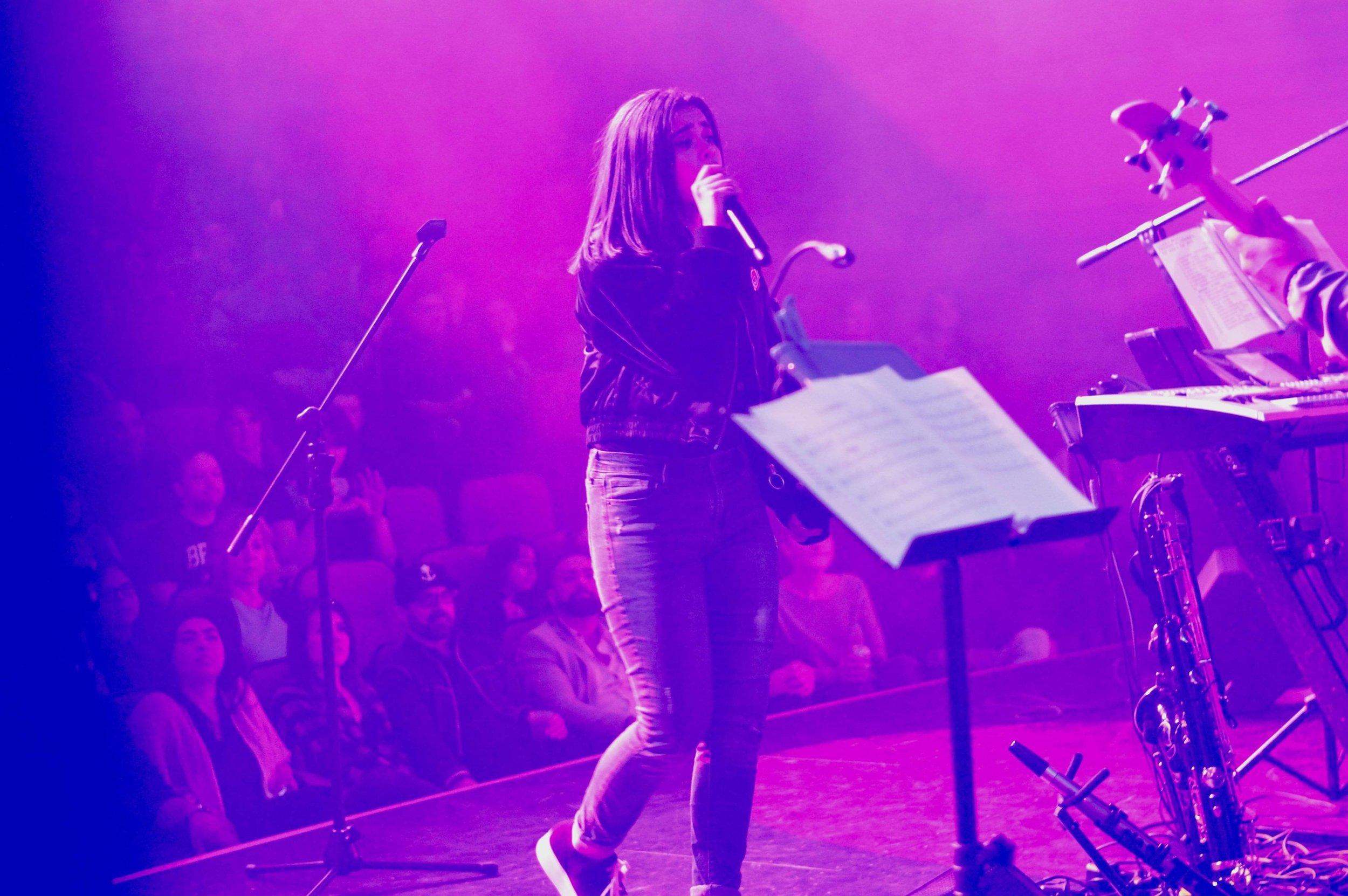 Bella Rosa en su último concierto!