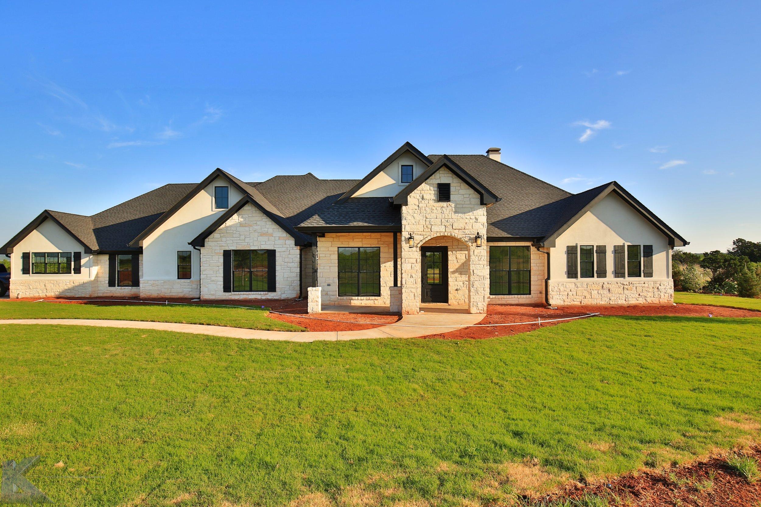 Kyle Paul Construction Abilene Texas Buffalo Gap Texas Custom Homes