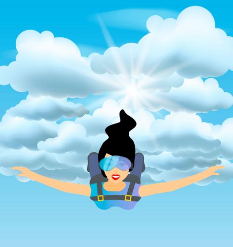Sky Diving Optional!