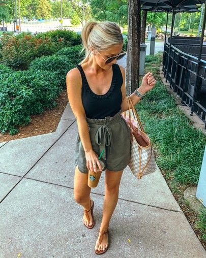 I could see myself in this look everyday. It's a summer version of a cute Safari look, will definitely replicate the color choices.