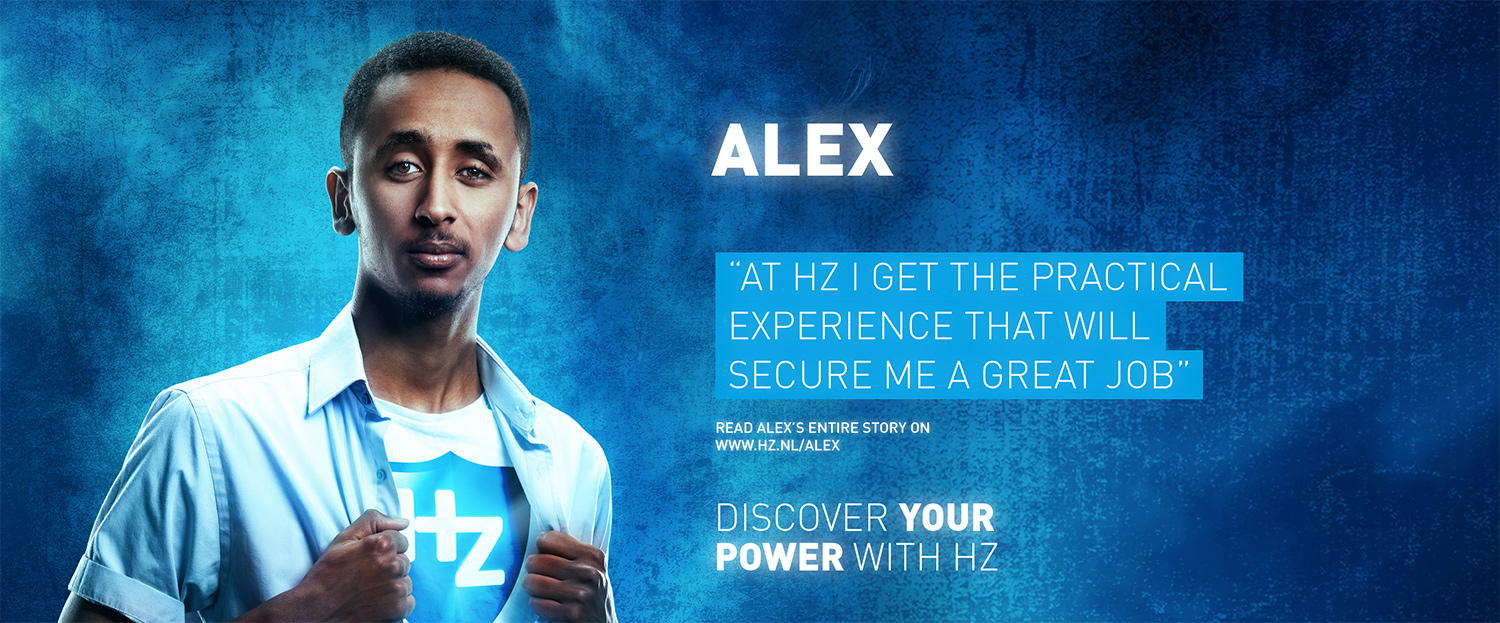 Campagne 'Discover your power with HZ' Fotografie