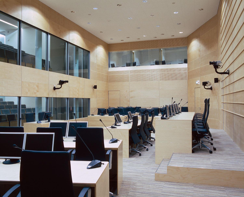 Interieur Internationaal Strafhof