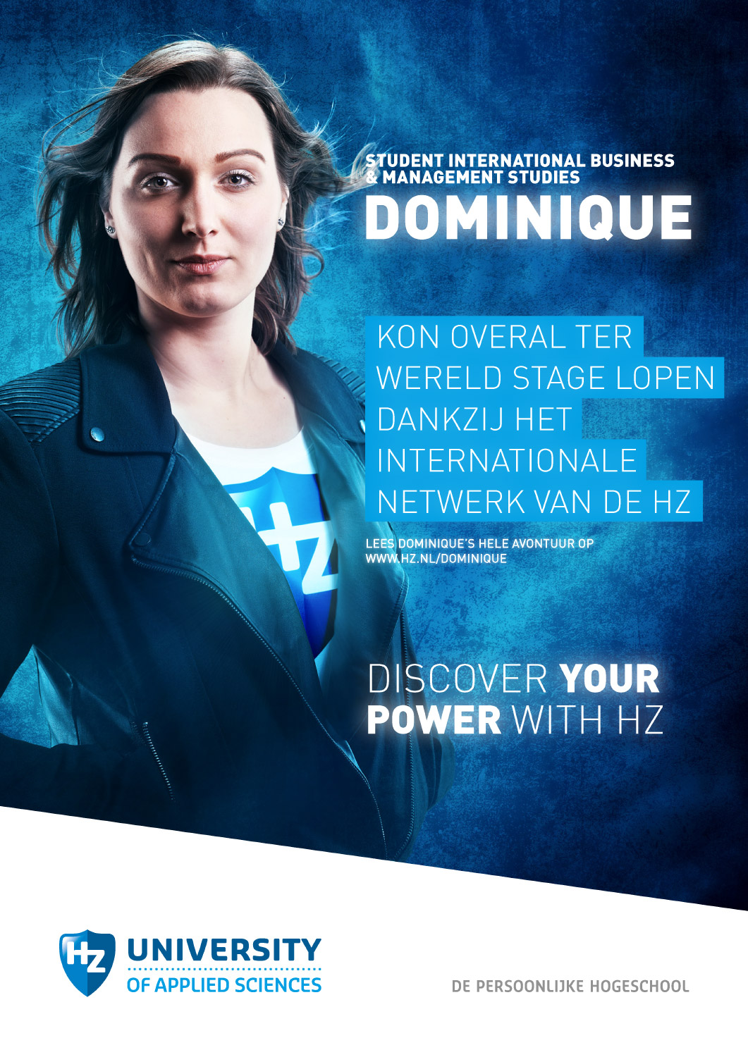 Copy of Advertising fotografie voor 'Discover your power with HZ' campagne