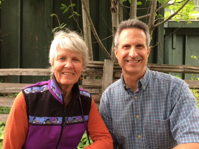 Photo of Annie Nies and Jeff Box provided by Annie Nies