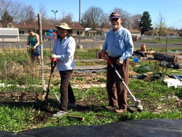 Food security and community garden - ORA members are addressing food security in a number of ways. An annual Gleaning Day has helped mobilize volunteers to harvest fruits and vegetables that would otherwise go to waste and donate them to local food banks. And the Blue Mountain Chapter and Snake River Chapter have community garden projects meant to assist in the healthy food needs of low-income people in our area as well as to promote greater homegrown prosperity with access to land, tools and gardening education.