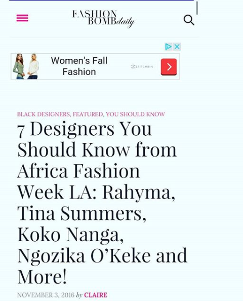 Copy of AFWLA review by Fashion Bomb Daily
