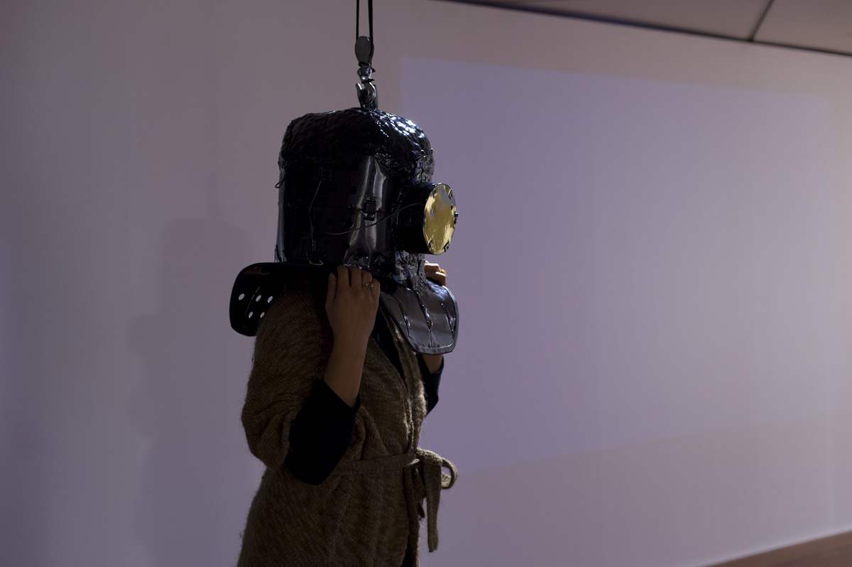 Install image: Ted Whitaker,  Videodrome  2013. Image: Max Bellamy