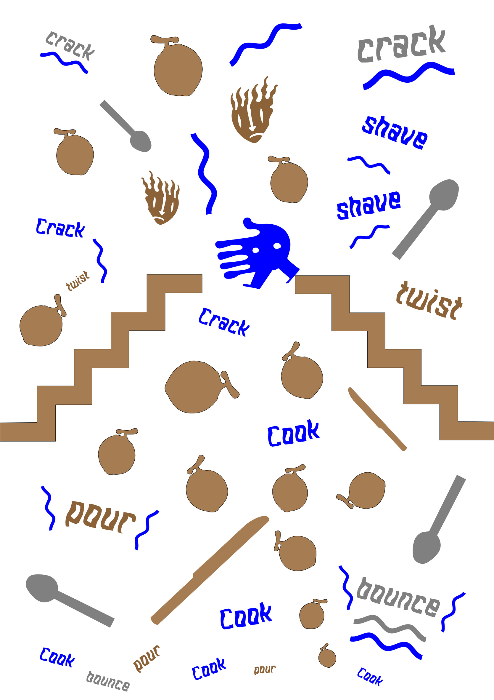 Cooking in South Auckland  (detail)