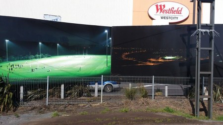 Dust to Dust.  Install view, Henderson Billboards 2013.
