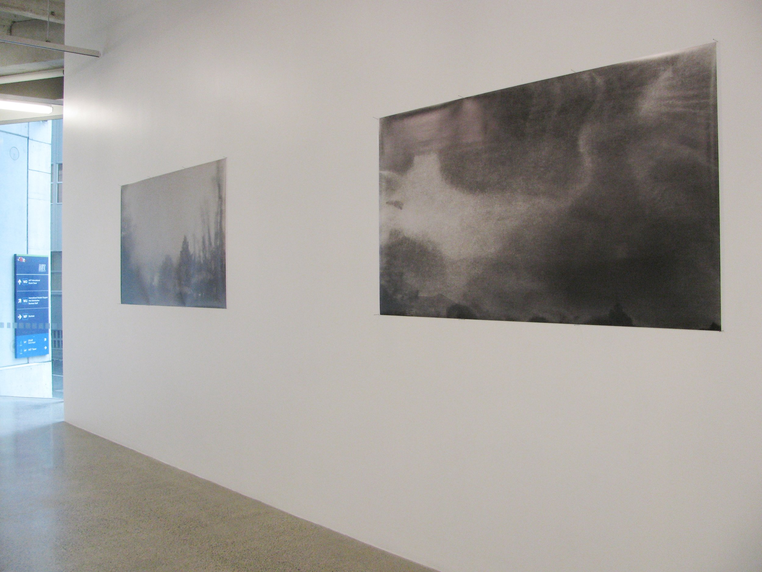 Double Sidedness . Install view, St Paul Street Gallery 2010