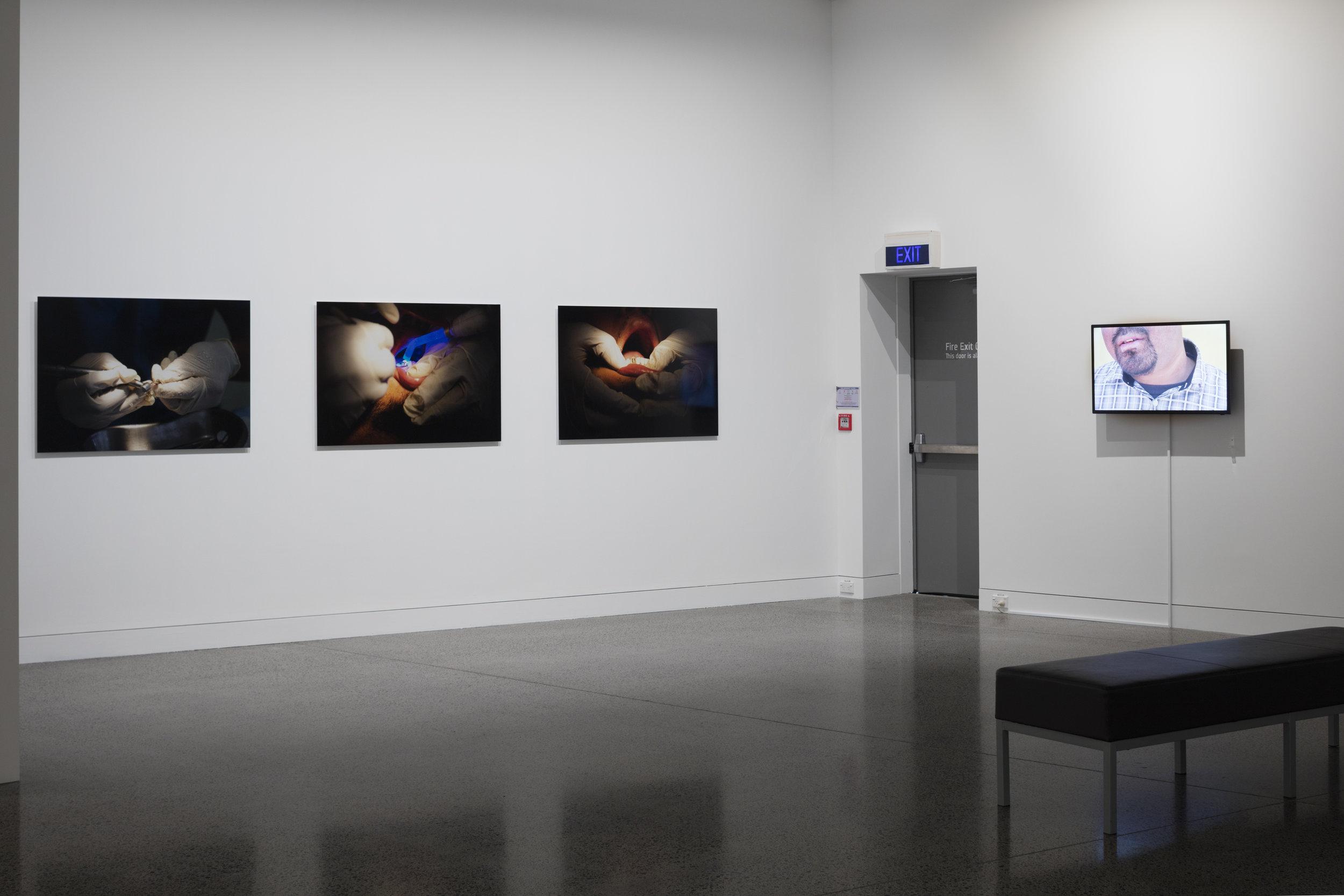 Fakaētangata.  Install view, Mangere Arts Centre 2016. Image: Sam Hartnett