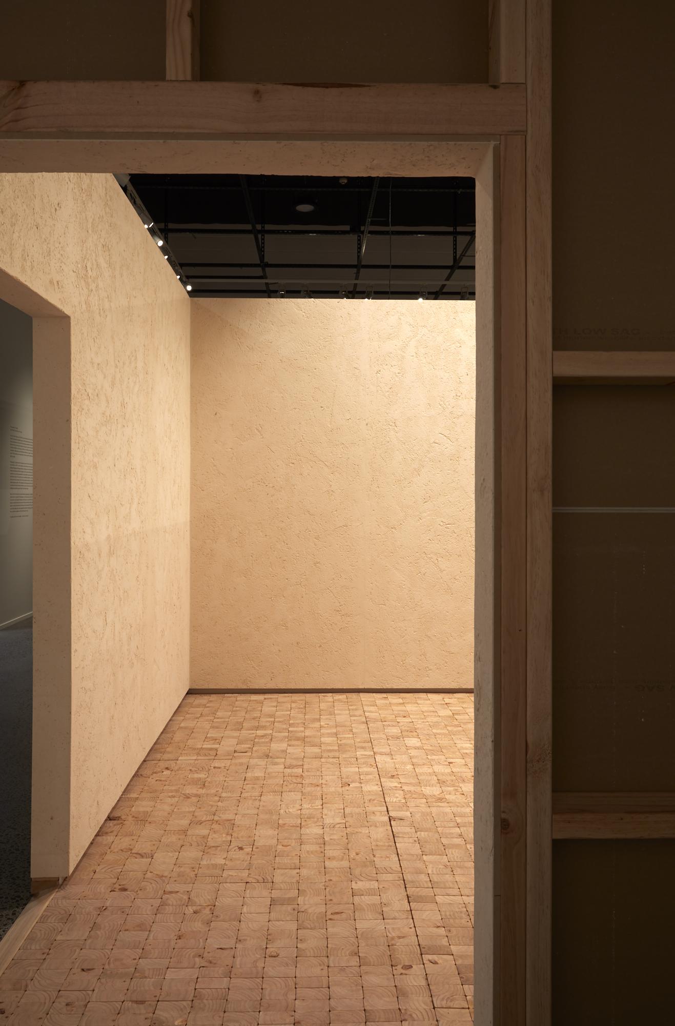 Rufus Knight and Mijntje Lepoutre, Untitled (Presque Rien), The Room, 2019, Objectspace. Image: Samuel Hartnett