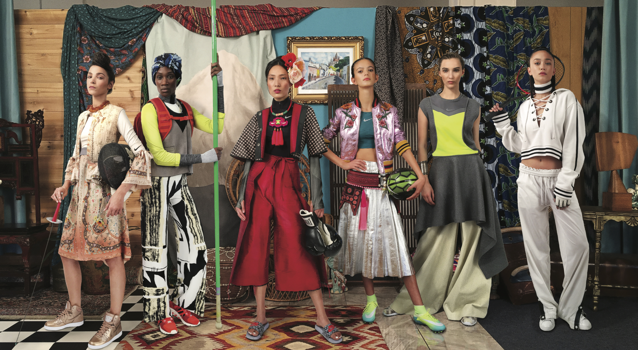 Harper's Bazaar: Brazil - No Ritmo Do EsporteJuly/August 2016Styled by Tasha GreenPhotography by Chris Hornbecker