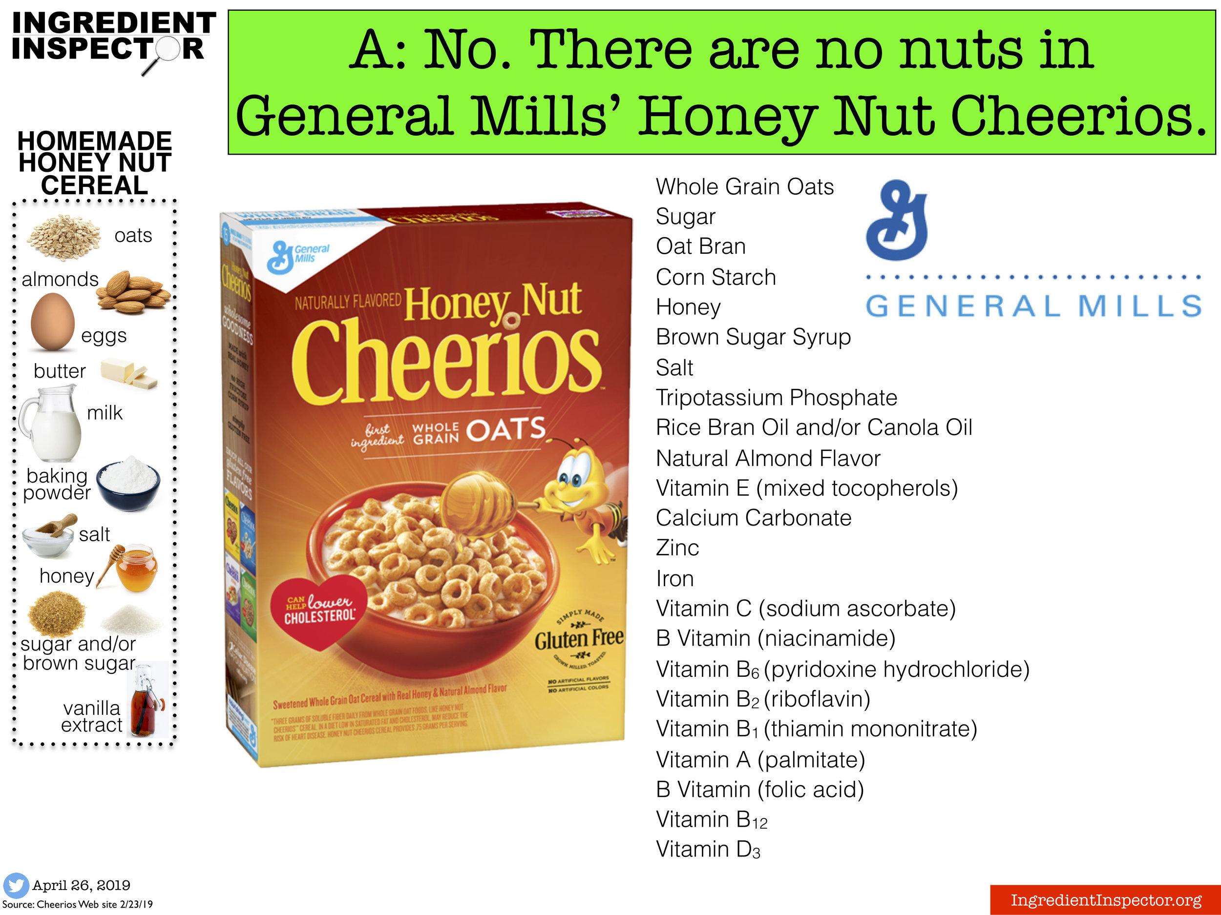 Ingredient Inspector Honey Nut Cheerios have no nuts.jpg