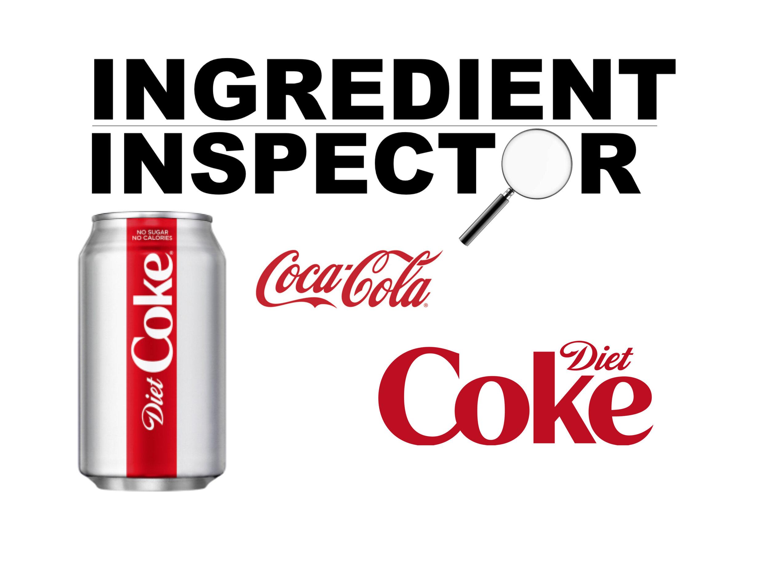 what are the ingerdiants in diet coke