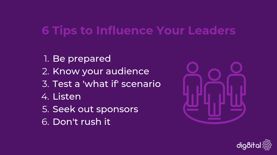 6 tips to influence your leaders on cyber security