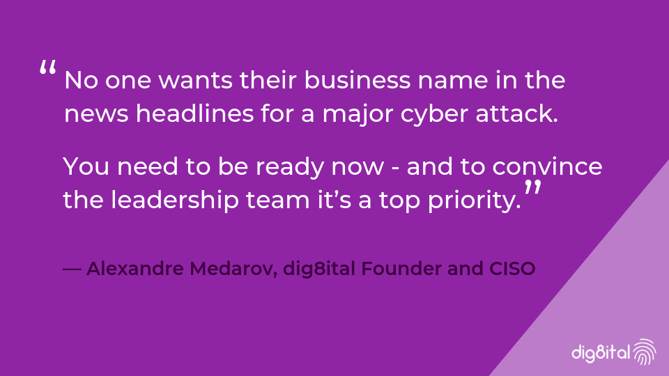 You need to be ready now - for a major cyber attack