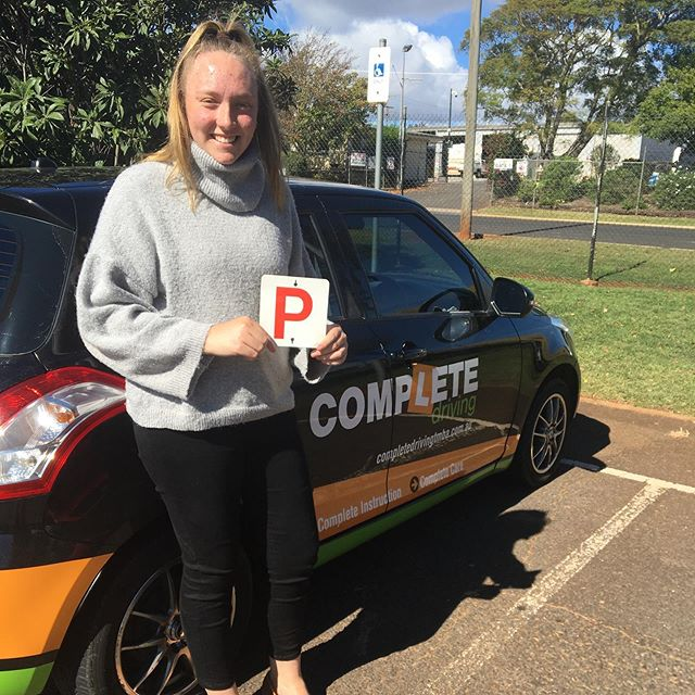 Awesome drive today Isabella.  Well done, happy driving.