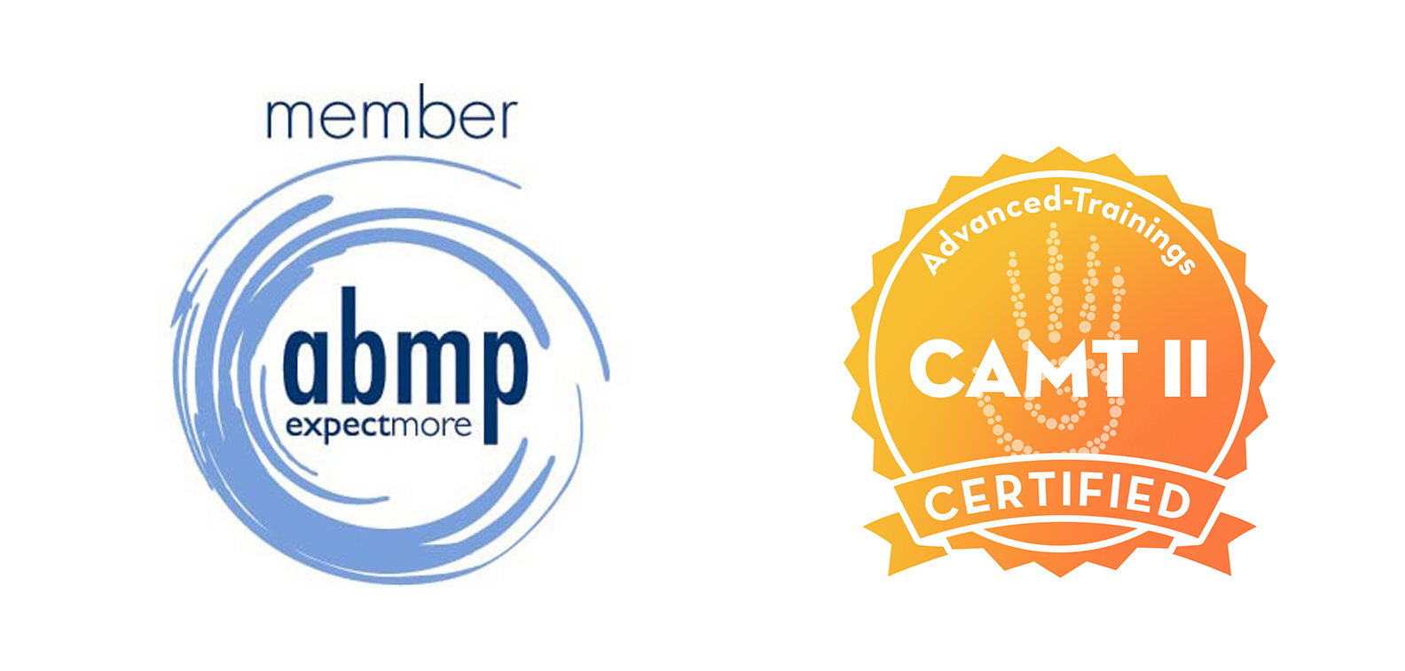 Certified in Advanced Myofascial Techniques, Level I (CAMT I) through  Advanced-Trainings.com