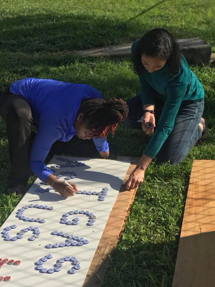 Designing the roadside biodigester sign!