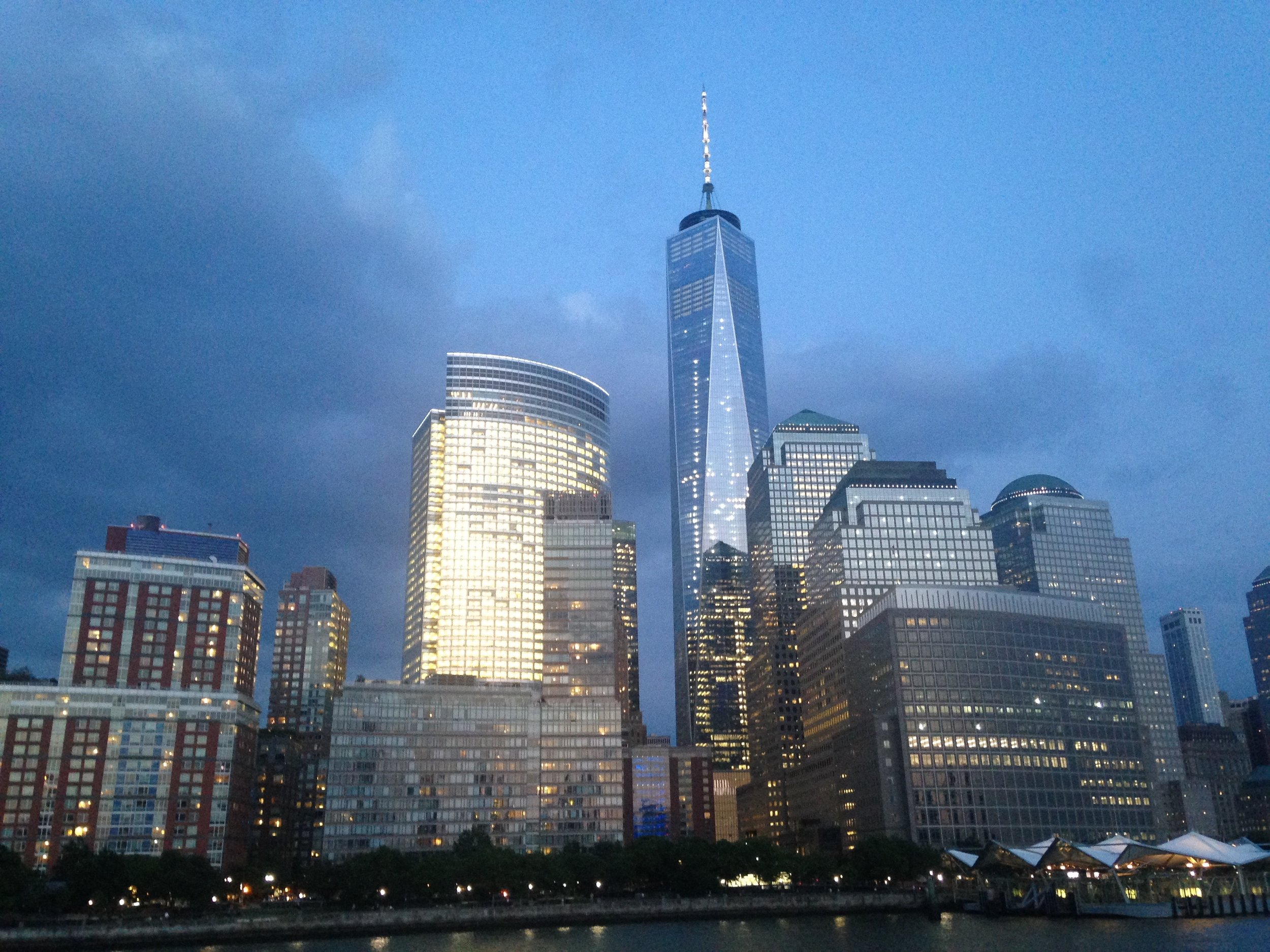 Taken at the Book Industry Guild of New York's annual Barge Bash on June 9th