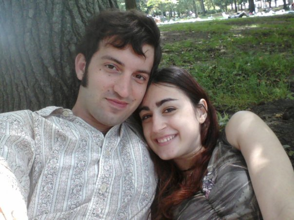 """Our first date, July 20th, 2009. Astoria Park. The day I told my family there was someone new. (""""Don't worry, it's not like we're getting married or anything!"""")"""