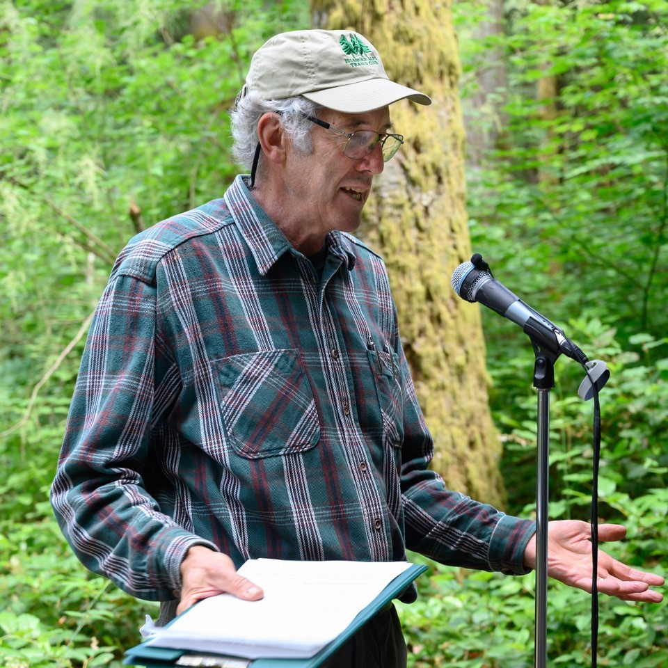 David Kappler presents the advocacy and conservation story on Tiger Mountain.
