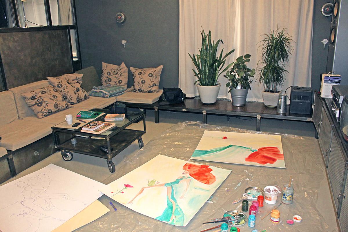 Studio of Olga Feshina 2009 S.jpg