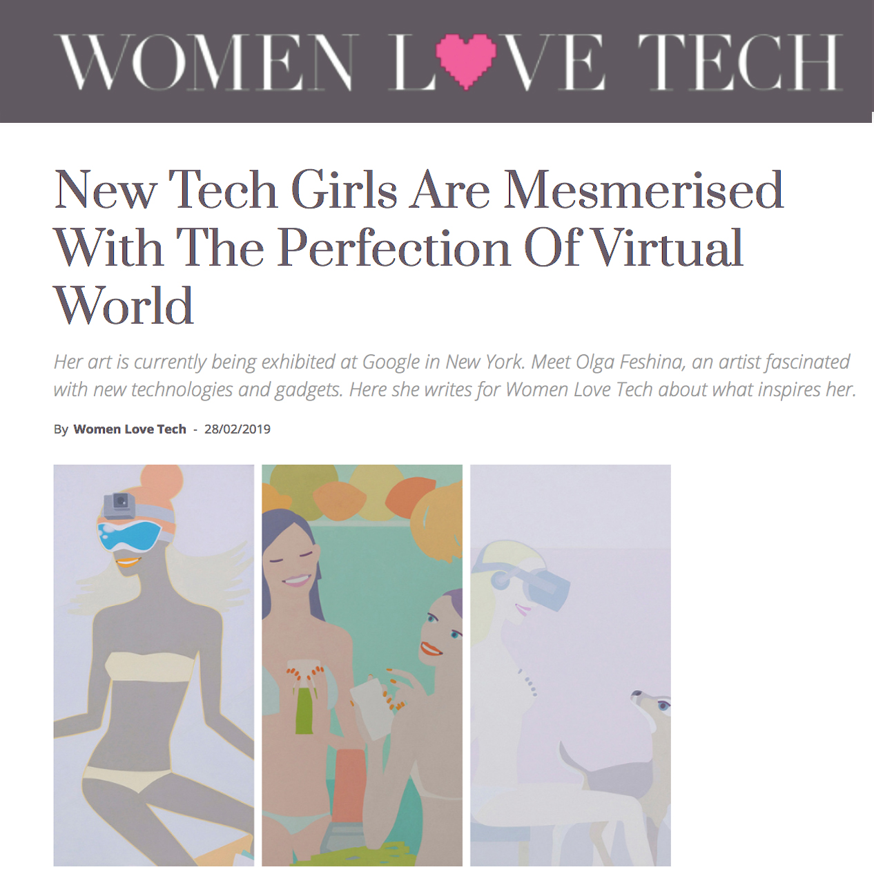 Women Love Tech