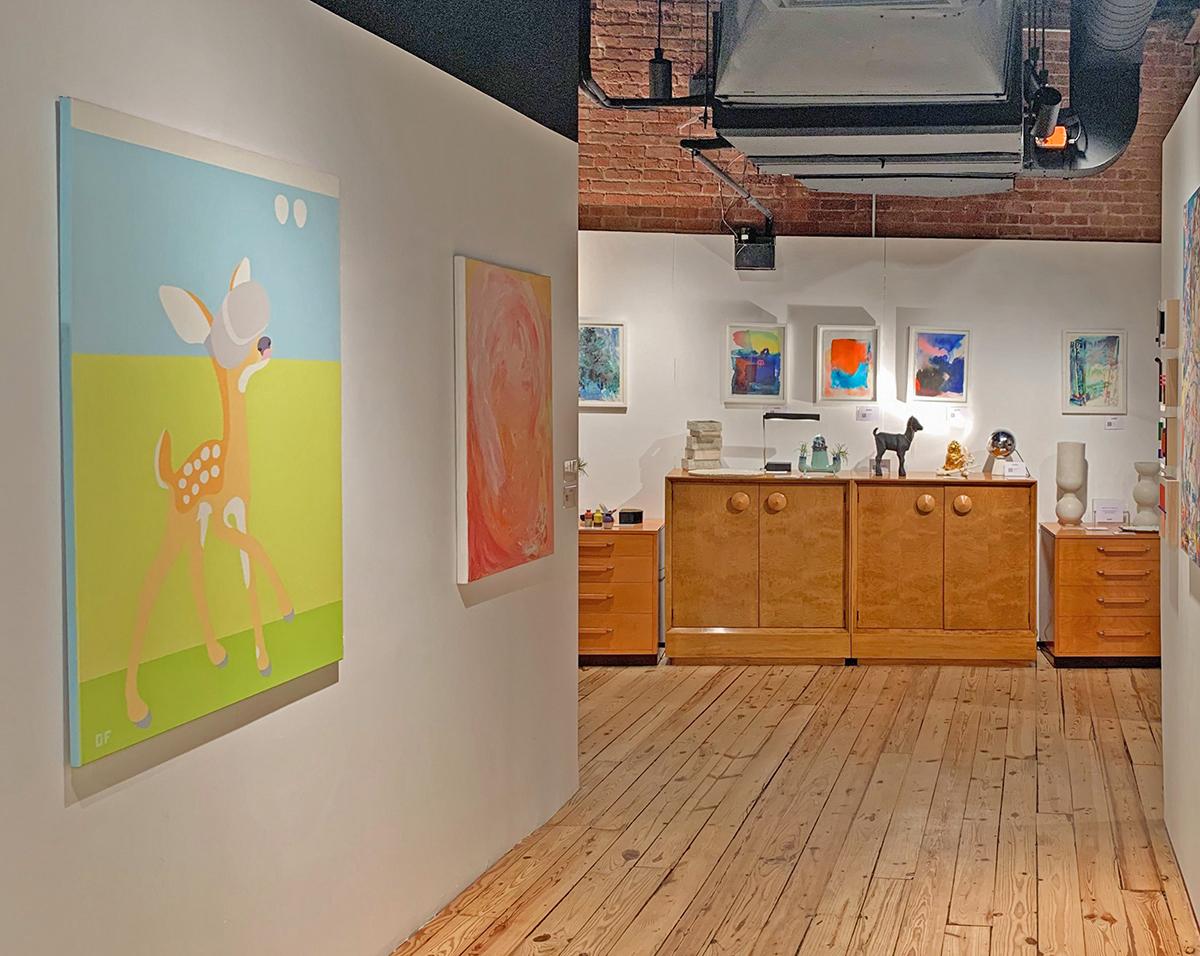 Olga Feshina at 1stdibs Gallery Chelsea NY