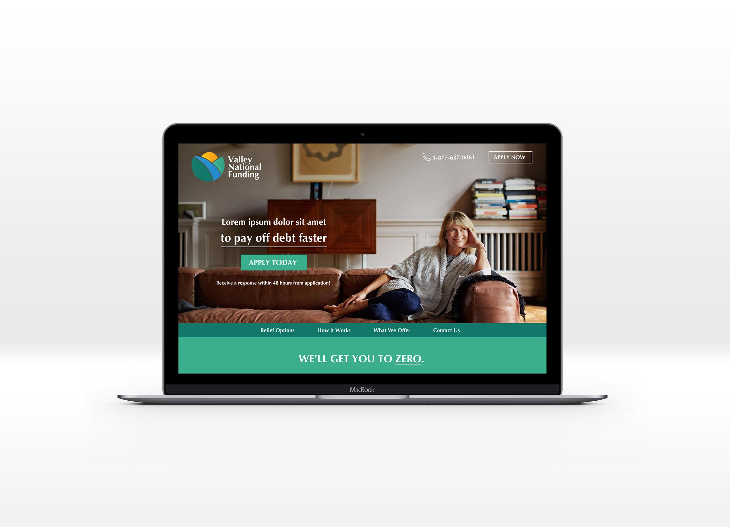 Valley National Funding - Website