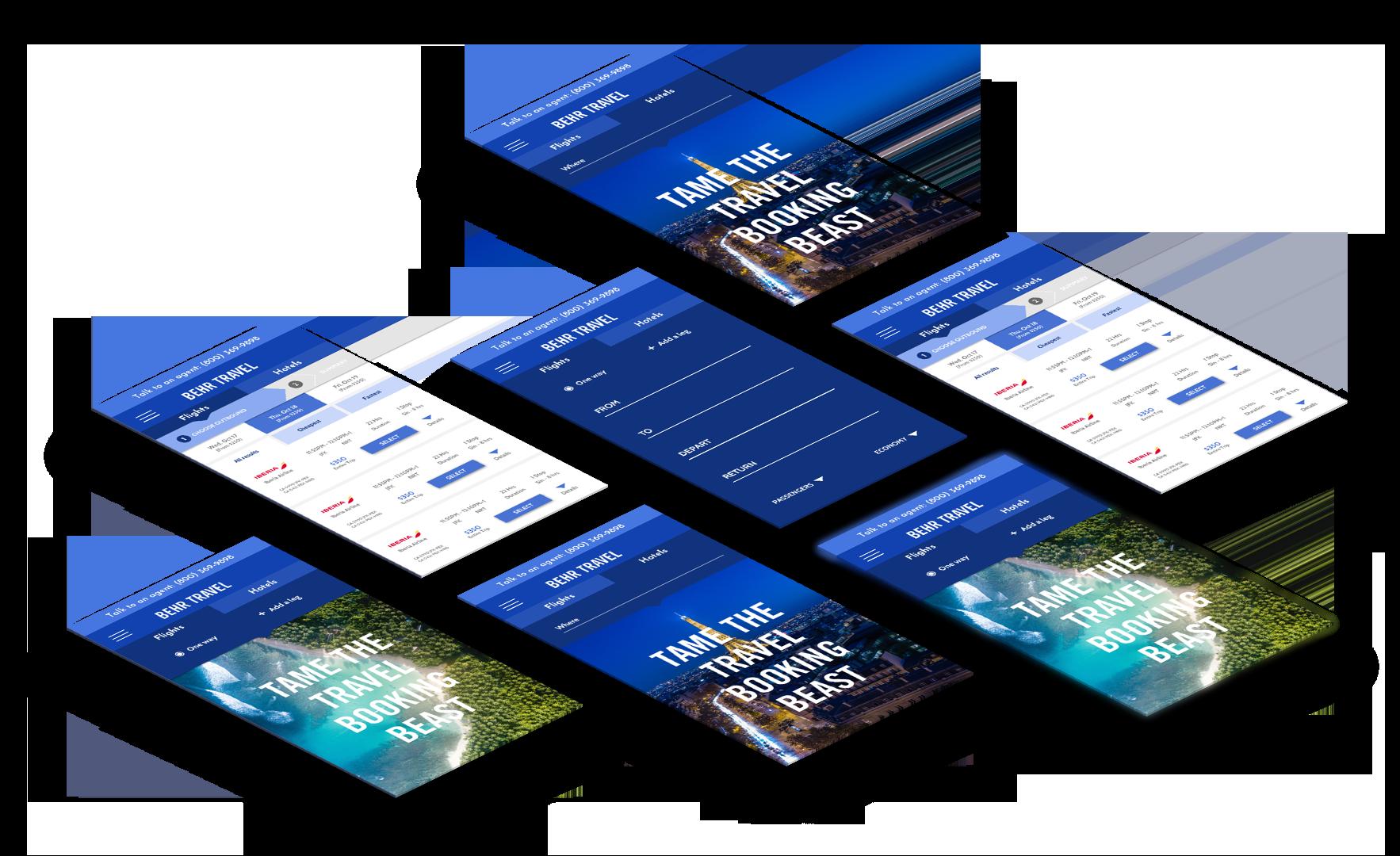 Behr Travel Website