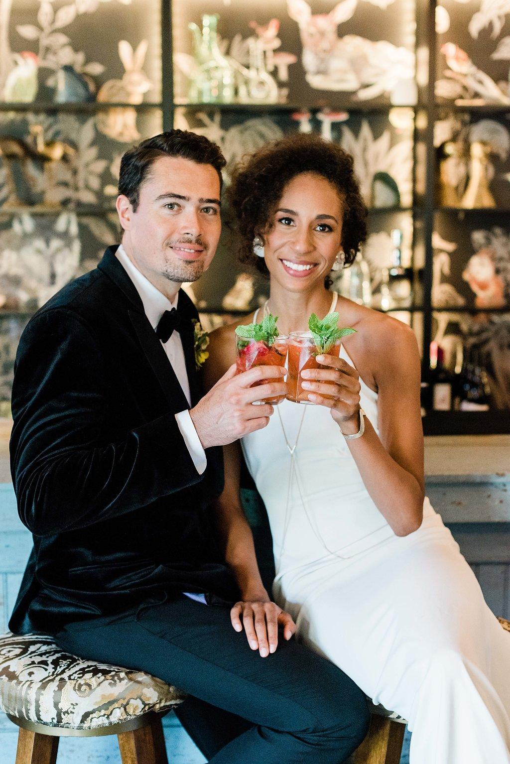 Lemon and Lime: Modern Spring Wedding Inspiration at The Lodge at Malibu Lake