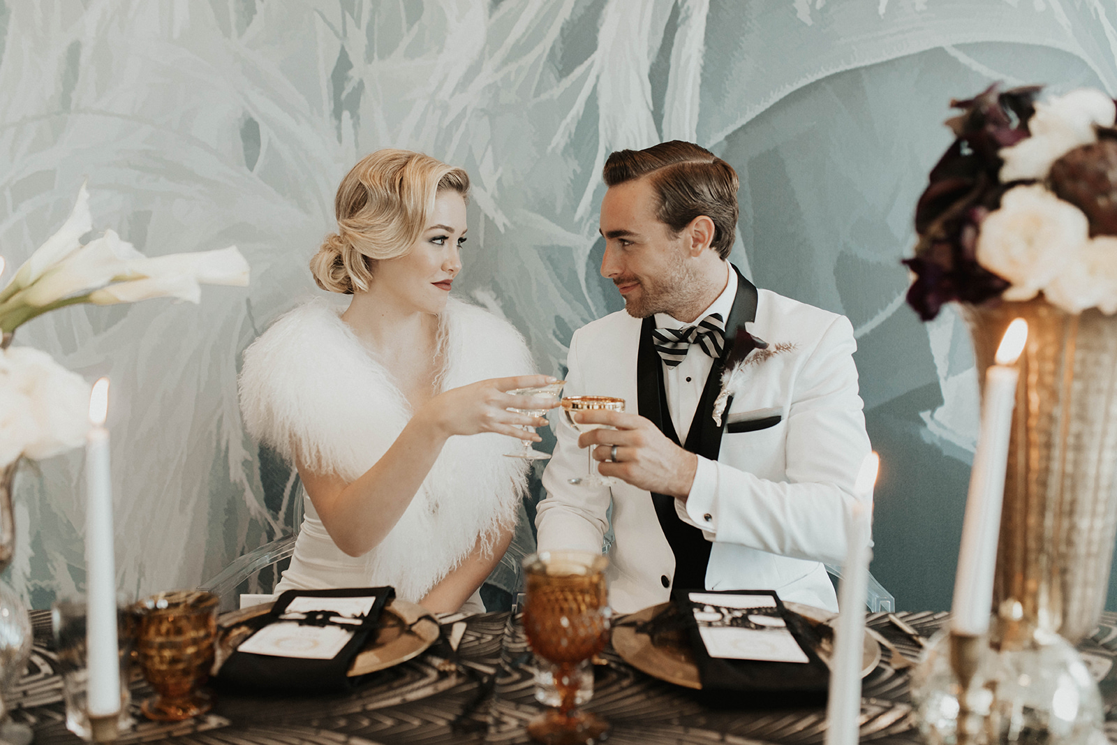 NEW YEAR'S EVE WEDDING INSPIRED BY THE GREAT GATSBY