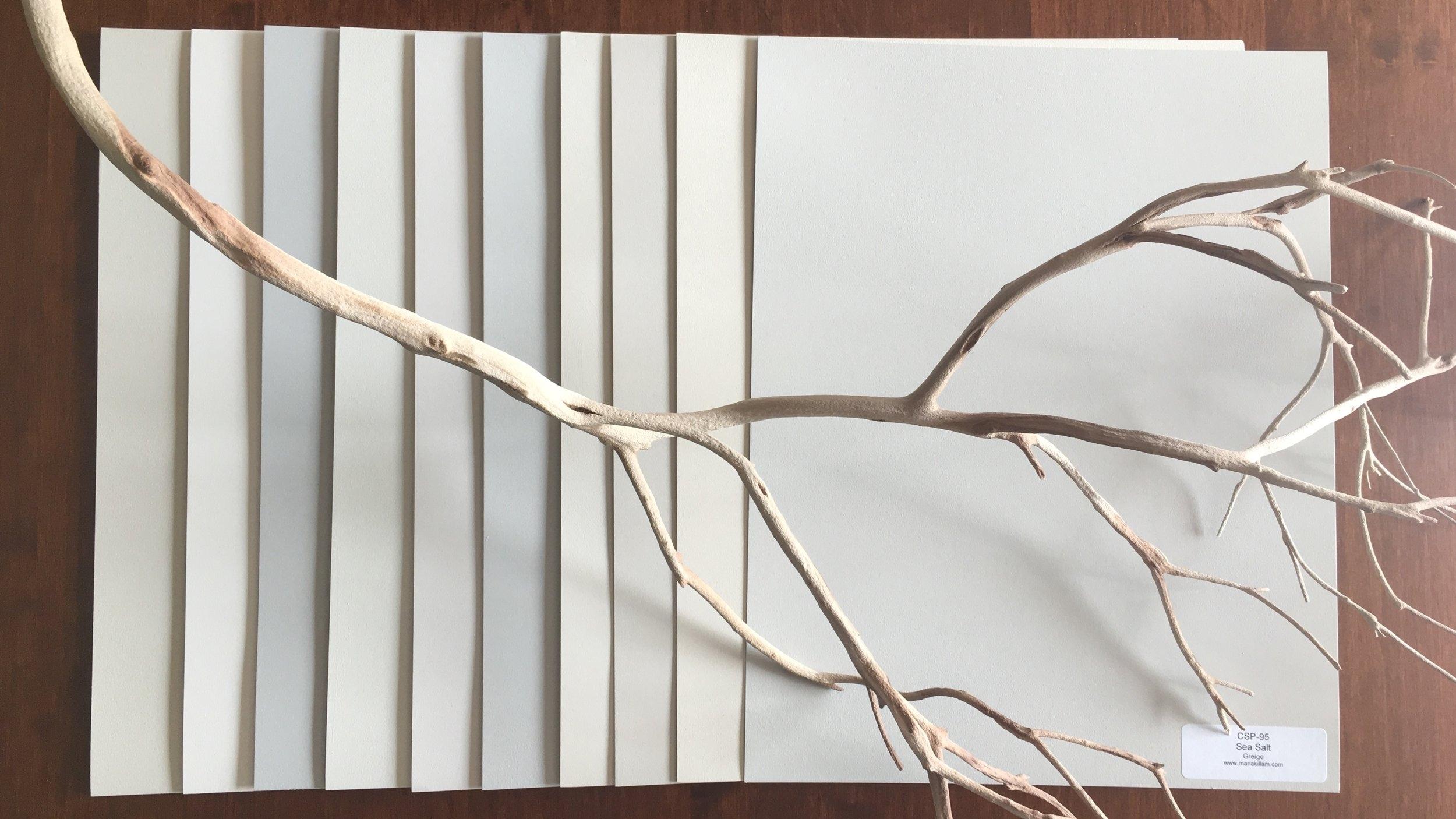 Large sample boards