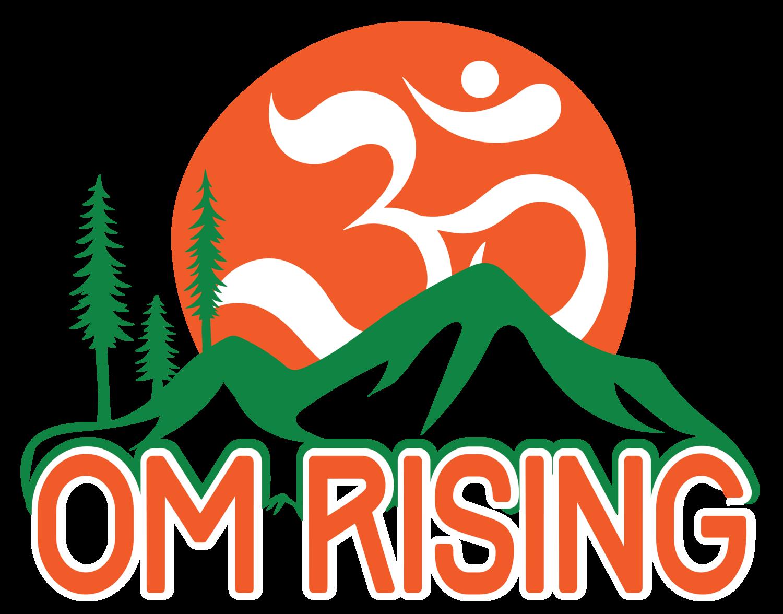 Om Rising Logo
