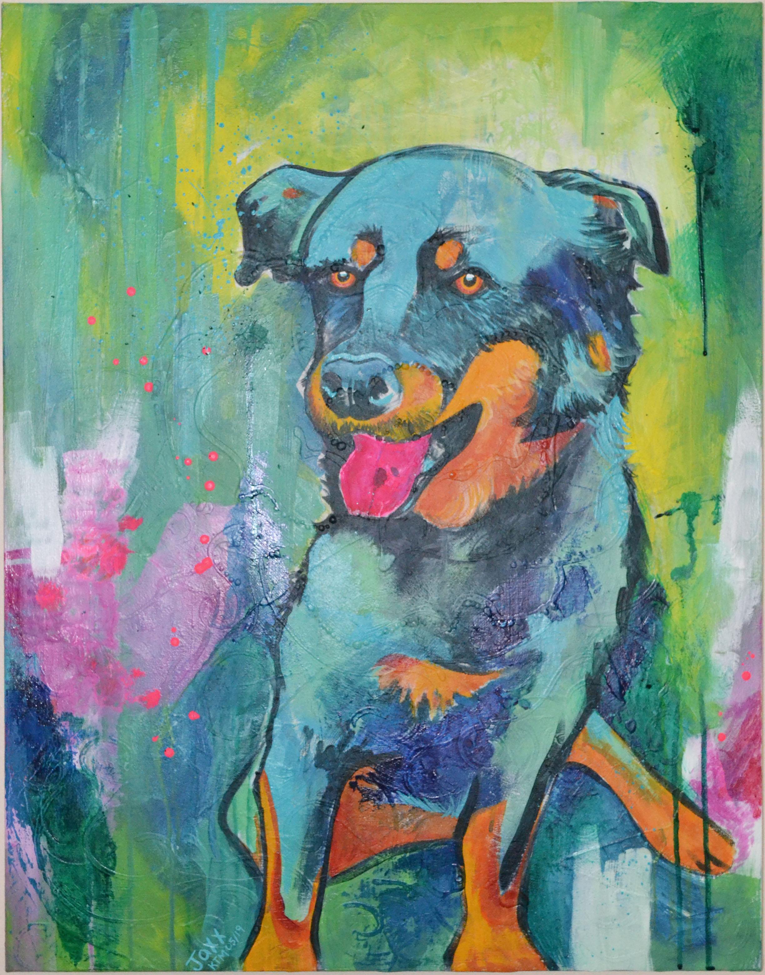 Pet Portrait - Acrylic Painting