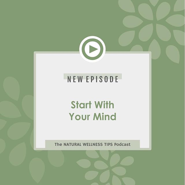 New Podcast Episode :) It is time to start with your MIND!!! . . I often find when we have a physical goal we want to reach such as lose weight or get rid of pain, we start by trying to address that physical issue. For instance with when we want to lose weight we head to the gym or try the newest diet craze. I have found that the majority of time this does not stick because at the root we have not changed our habits, or our beliefs. Therefore, nothing is going to stick. . . In this episode I dive deeper into this idea and give you some tangible ideas on how to start making these deeper changes! . . You can find the link in my bio to listen or search 'Natural Wellness Tips Podcast' in iTunes or Spotify. . . Ready to book a call with me and dive deeper into this? The link is in my bio!