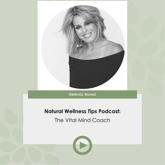 New Podcast Episode: The Vital Mind Coach with @deannajnunez . . Today's guest is De'Anna Nunez, a peak-performance hypnotist teaching people how to break through their mental blocks and create their most vital thinking habits. She has hypnotized over 10,000 people. She is a soon-to-be published Author of 'The F.I.T. Method: How to Release from Sabotage and Create Unstoppable Confidence in a Body You Love. . . Link to listen in the bio or you can search Natural Wellness Tips Podcast on iTunes or Spotify 😊
