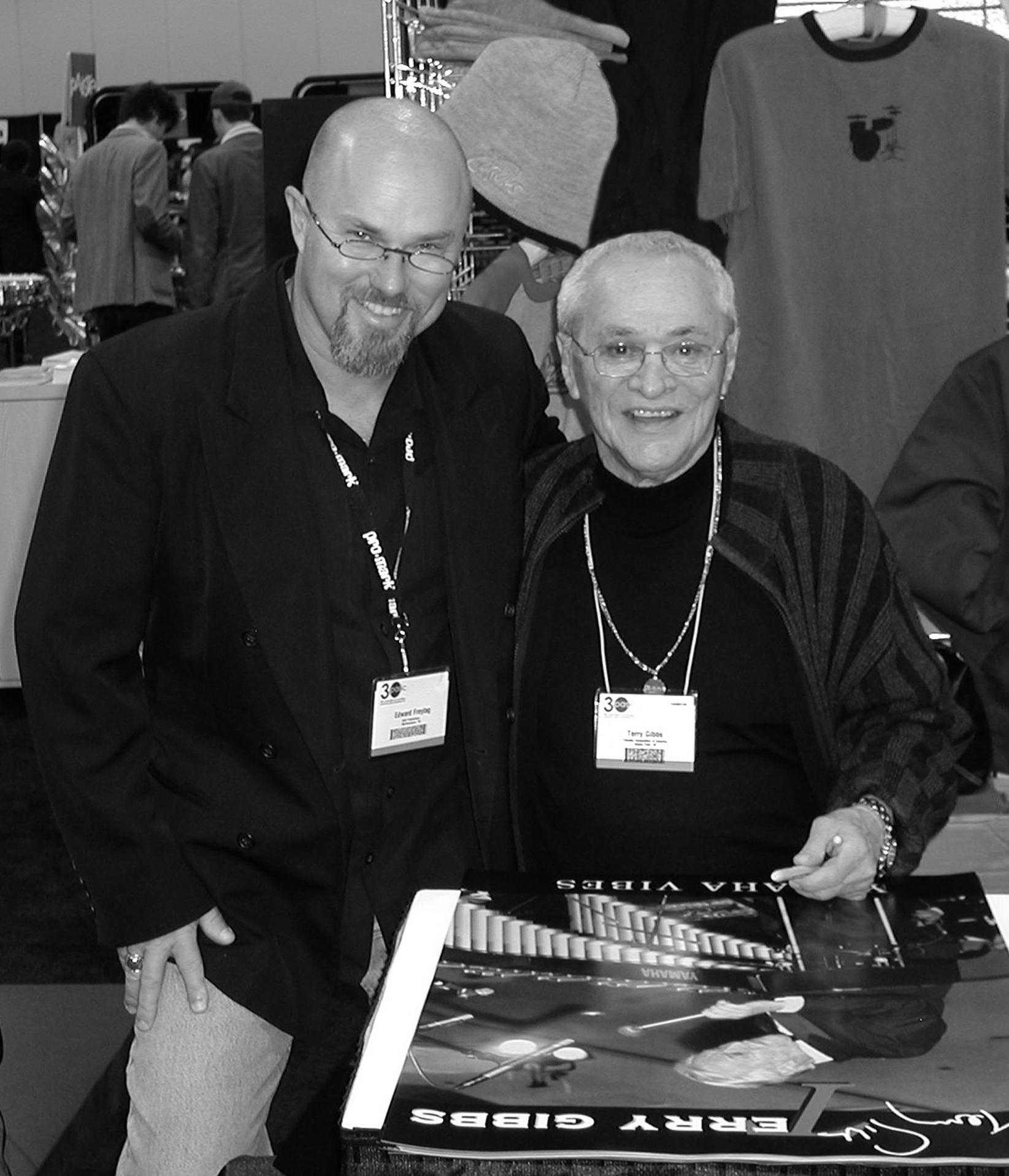 Edward and Terry Gibbs, 2005