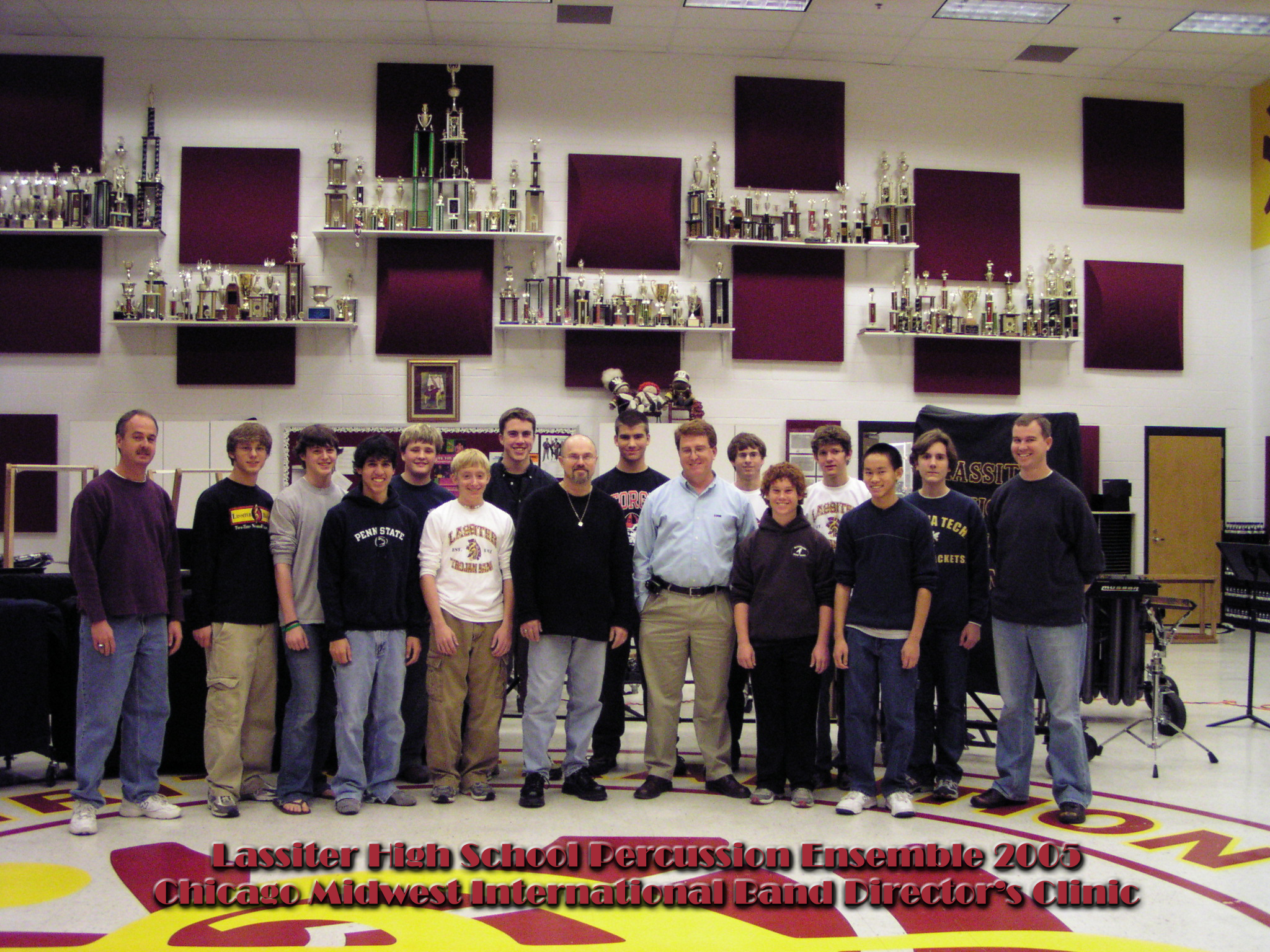 Lassiter HS Percussion Ensemble at Chicago Midwest, 2005