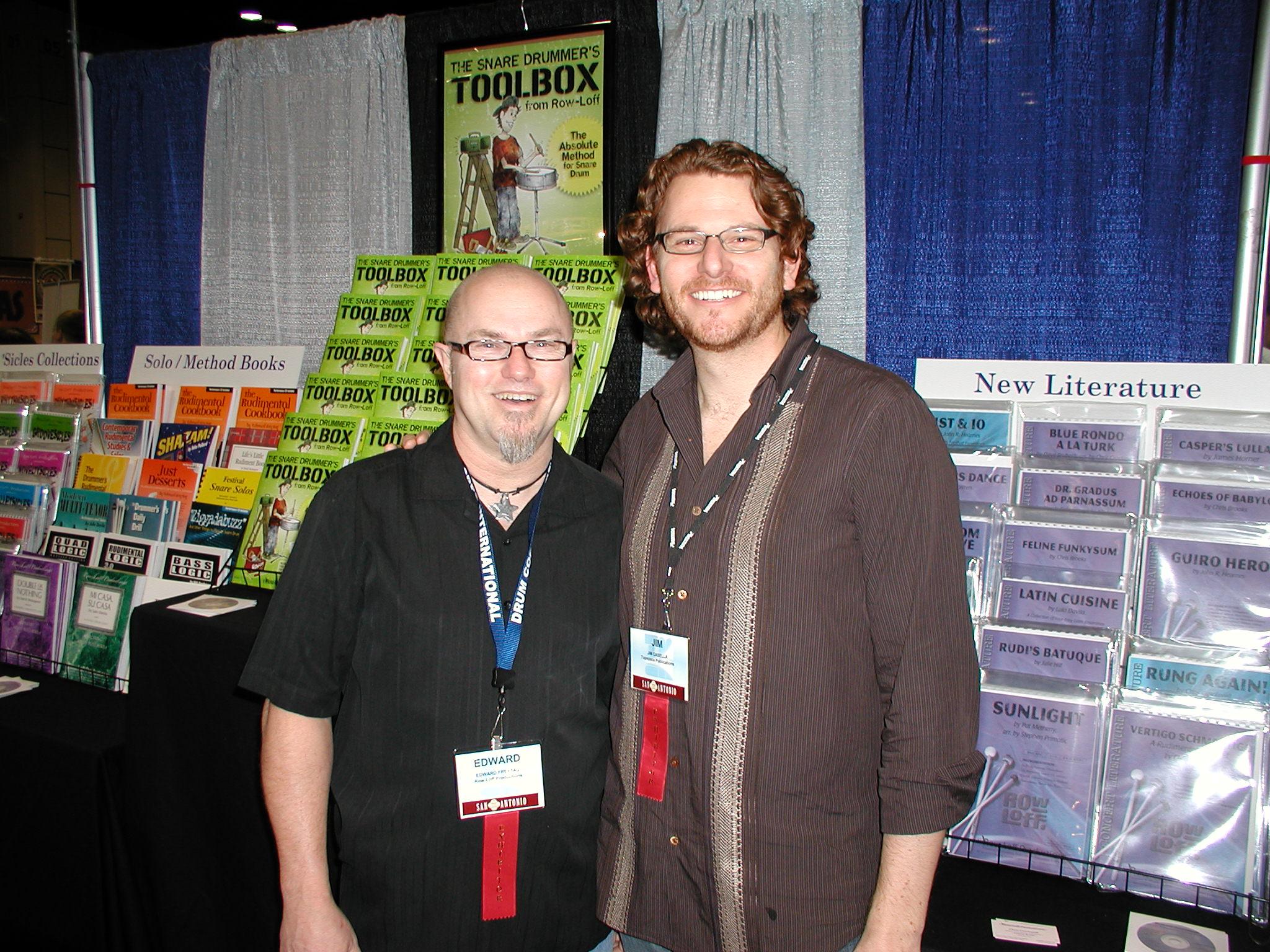 Edward and Jim Casella, 2010
