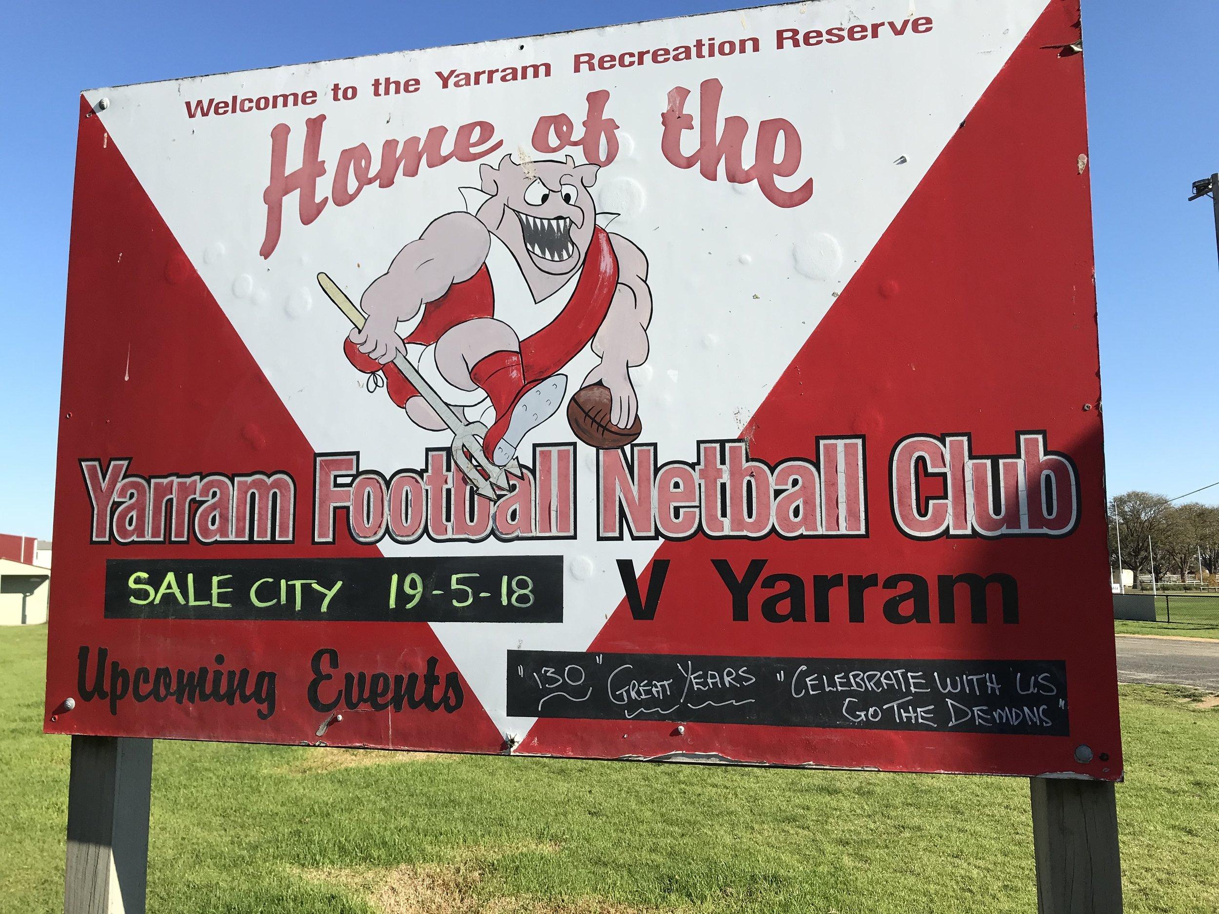 Yarram Footy ground.JPG