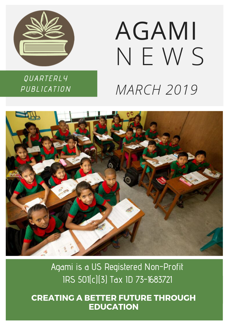 Agami Quarterly News - March 2019