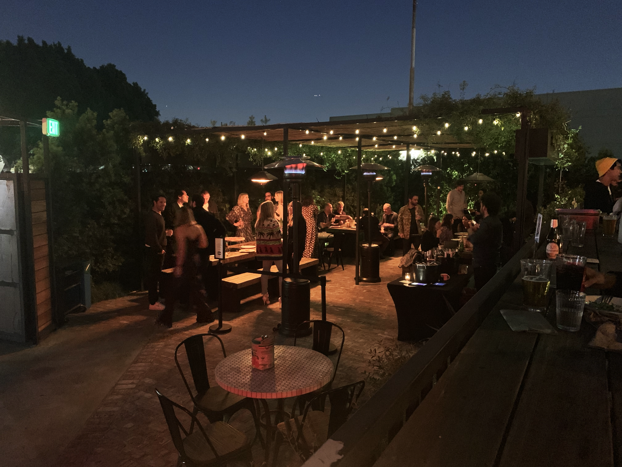 Patio Party at Lupetti Pizzeria