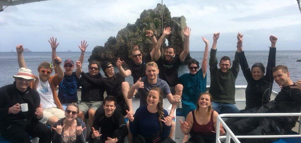 GUE Fundamentals summer 2020/21 — Advanced Diving New Zealand