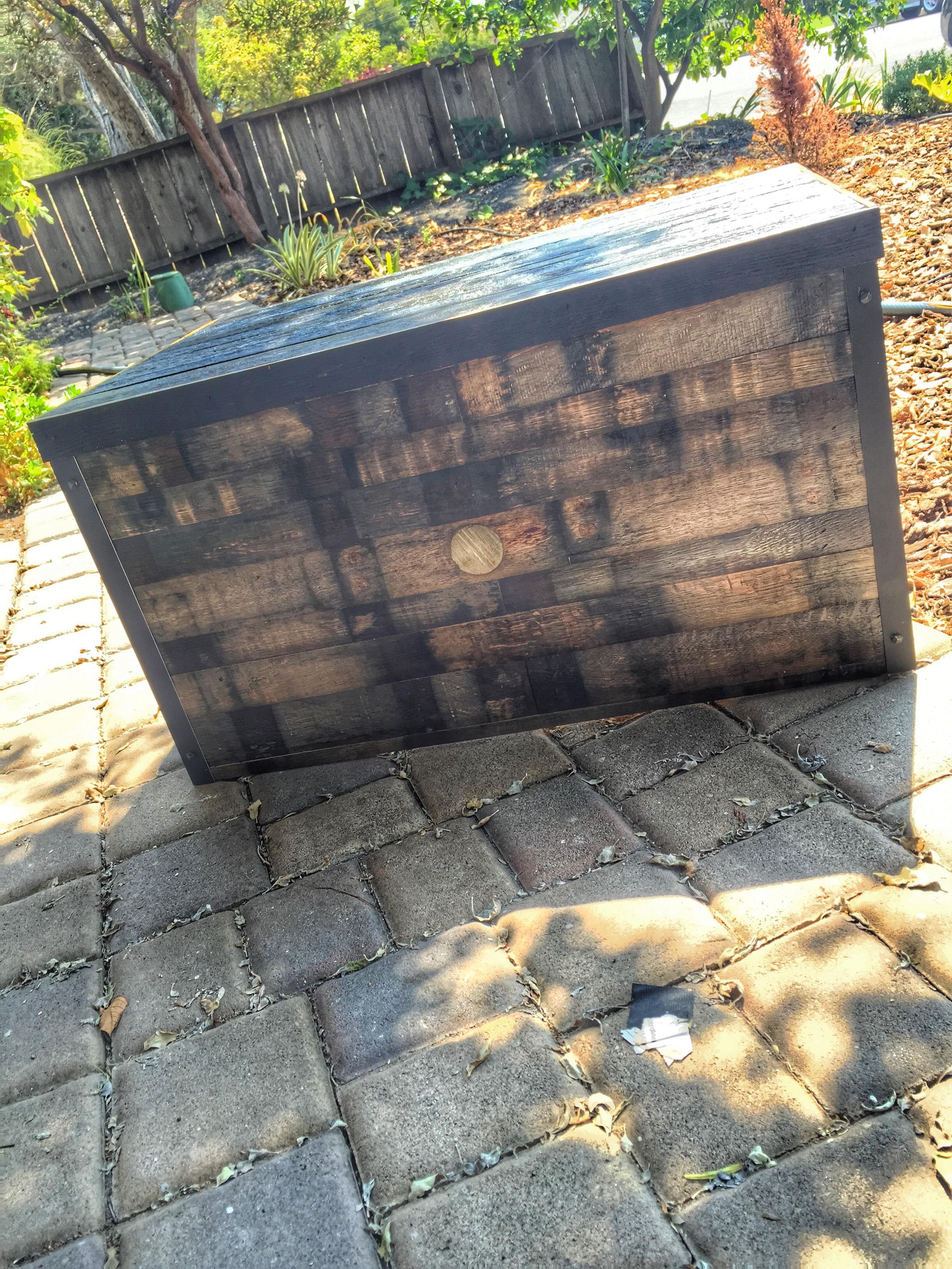 Bourbon Barrel (3 Sided)