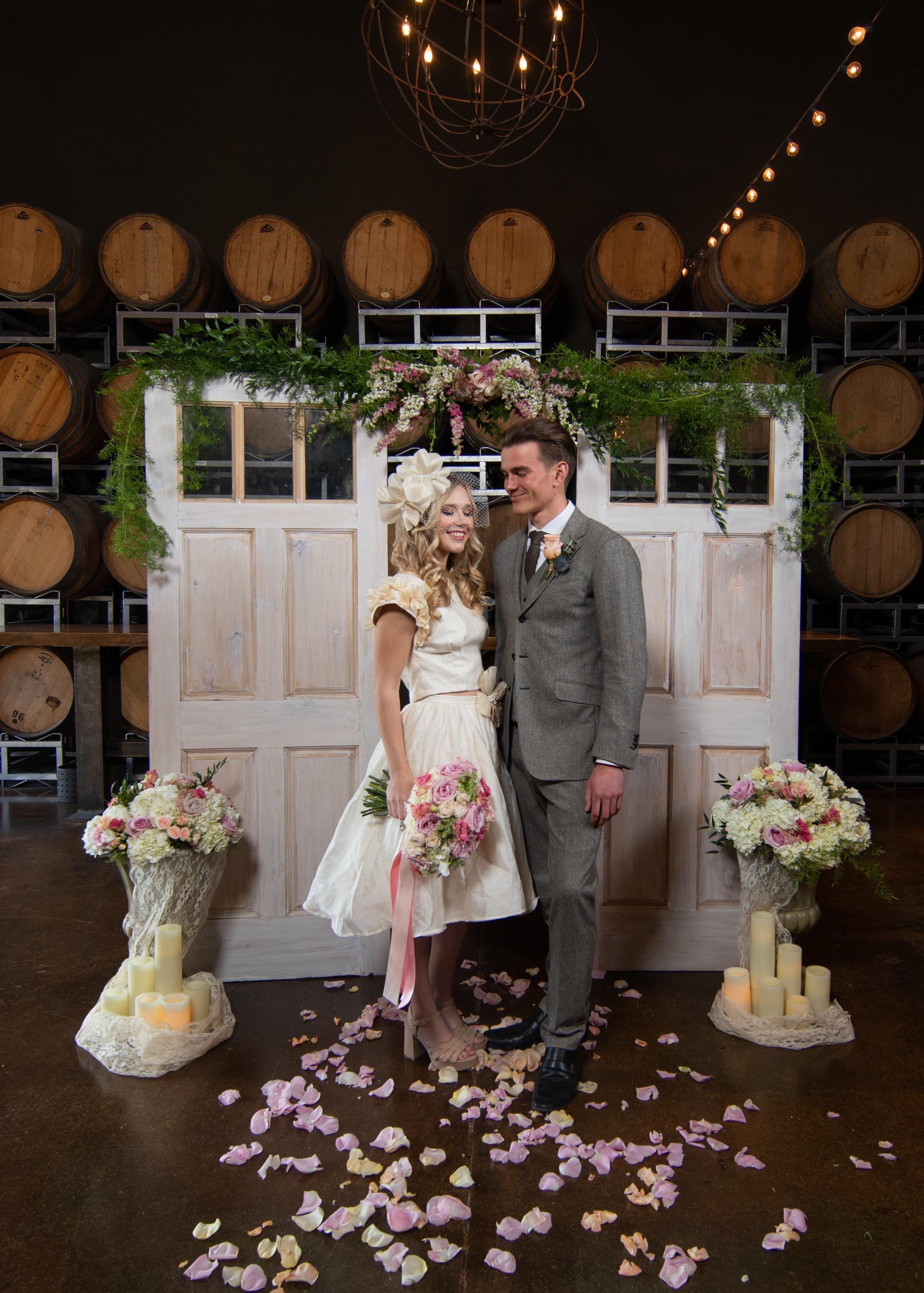 Rustic Doors Wedding