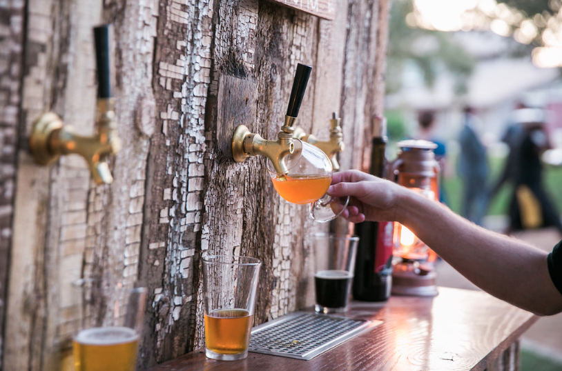 Draft Beer Bar Rental - Bay Area Draft